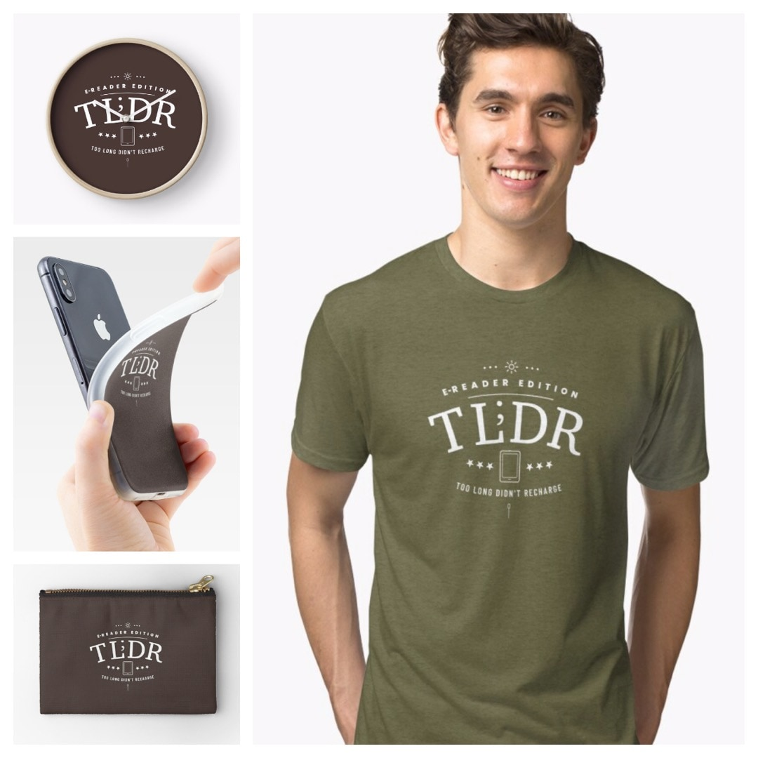 Too long didnt recharge - tshirts wall art accessories