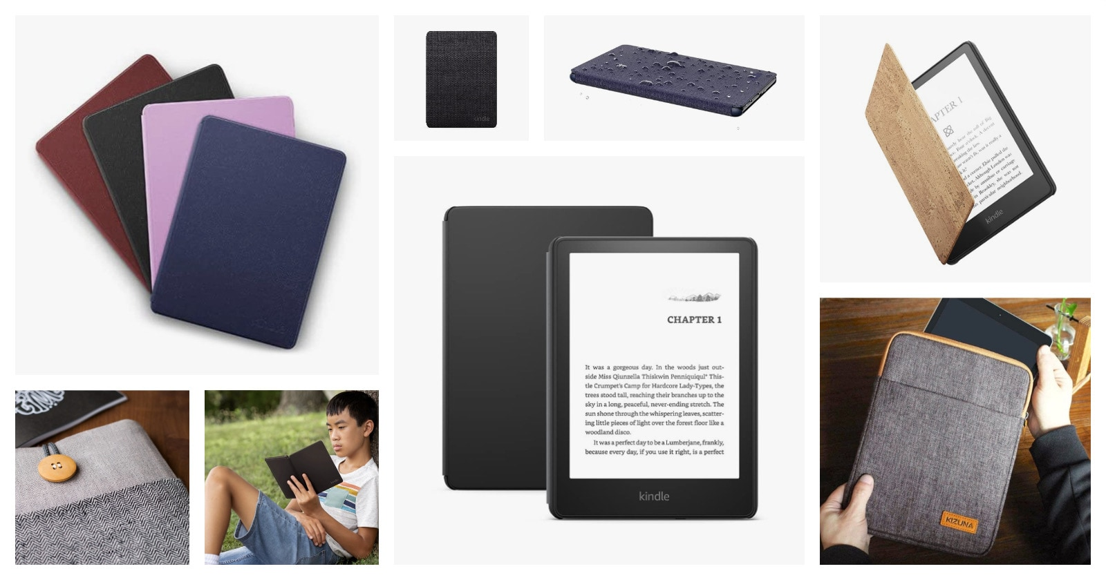 Best Kindle Paperwhite 6.8 2021 case covers so far