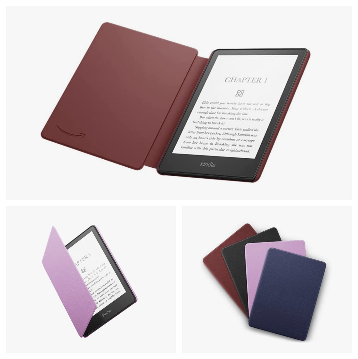 Official Amazon Kindle Paperwhite 6.8 2021 leather case cover